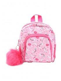 Younger Girls Pink Unicorn Mini Rucksack
