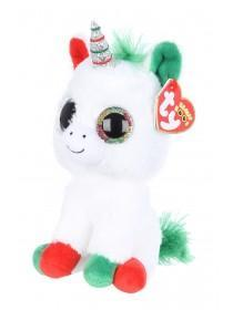 Kids TY Christmas Unicorn Beanie Boo