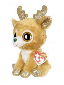 Kids TY Christmas Reindeer Beanie Boo