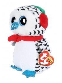 Kids TY Christmas Owl Beanie Boo