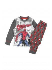 Boys Grey Spiderman Pyjama Set