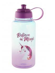 Large Purple Unicorn Water Bottle