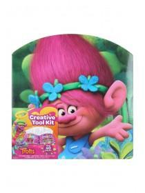 Kids Trolls Crayola Art Case