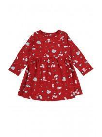 Baby Girls Red Christmas Dress