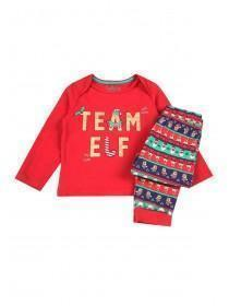 Unisex Baby Green Elf Pyjama Set