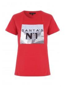 Womens Red Novelty T-Shirt ... 5b1b72321bc5