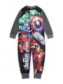 Older Boys Grey Marvel Onesie