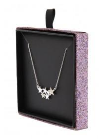 Womens Star Cluster Necklace