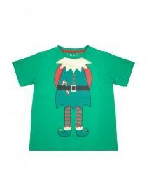 Younger Boys Green Elf T-Shirt