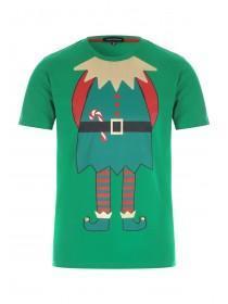 Mens Green Elf T-Shirt