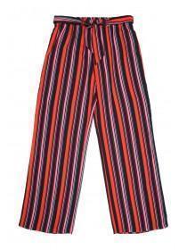 Older Girls Red Stripe Trousers