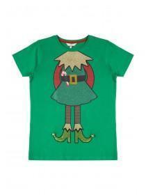 Older Girls Green Elf T-Shirt