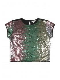 Older Girls Multicolour Sequin T-Shirt