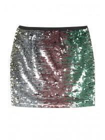 Older Girls Multicolour Sequin Skirt