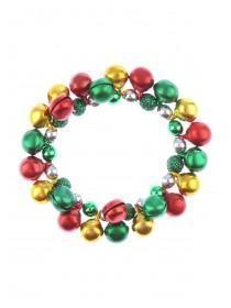 Multicolour Jingle Bell Scrunchie
