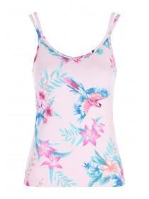 3f821948f729d5 Womens Pink Bird Print Cami Pyjama Top ...