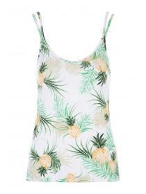 ee628d06dd04c8 Womens White Fruit Cami Pyjama Top ...