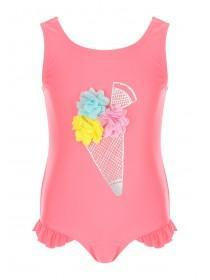 1b70fd07c Younger Girls Pink Ice Cream Swimsuit ...