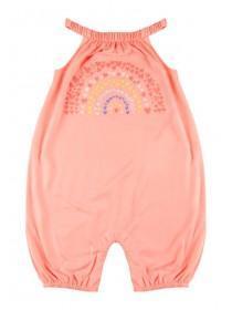 eced9ec09 Baby Girls Pink Rainbow Romper ...