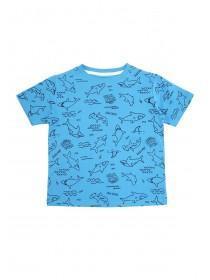 Younger Boys Blue Shark T-Shirt ... 1bdd1b8f5