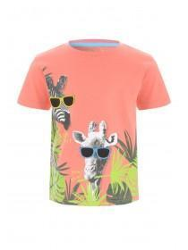 c880d670 Younger Boys Coral Animal T-Shirt ...