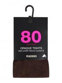 Womens 80 Denier Tights 1 Pack