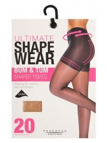 Womens Bum and Tum Shapewear Tights