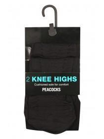 2Pk Sheer Knee High Tights