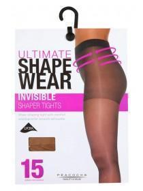 Womens 15 Denier Invisible Shaper Tights