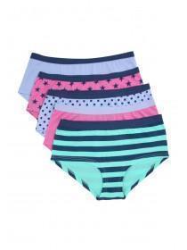 Girls 5PK Boy Shorts