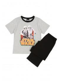 Boys Grey Star Wars Pyjamas
