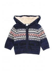 Baby Boy Zip Through Knit Hoody