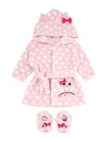Baby Girls Robe and Bootee