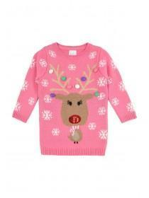 Younger Girls Rudolph Jumper Dress