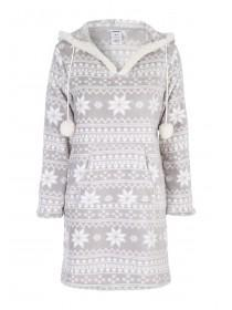 Womens Fleece Nightdress