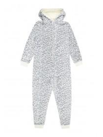 Girls Grey Onesie
