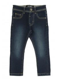 Younger Boys Dark Blue Entry Skinny Jean