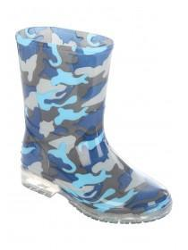 Kids Camo Churchill Wellies