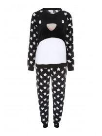 Womens Black Twosie