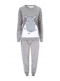Womens Grey Twosie
