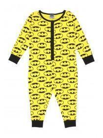 Boys Yellow Batman Onesie