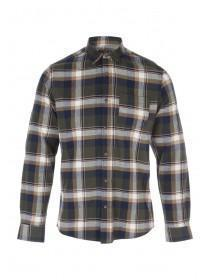 Mens Khaki Flannel Shirts