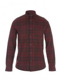 Mens Red Flannel Shirts
