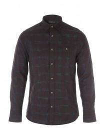 Mens Check Long Sleeve Shirt