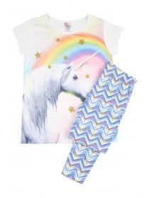 Older Girls Unicorn Legging Pyjamas