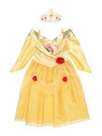 Girls Princess Belle Dress Up