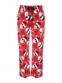 Mens Check Fleece Pyjama Bottoms