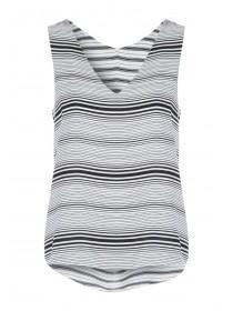 Womens Stripe Reversible Print Vest