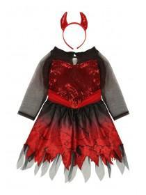Kids Devil Dress Up Costume