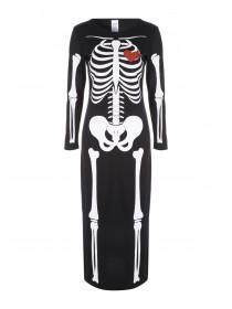 Adult Female Skeleton Dress Up Costume